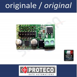 Additional module to control electric lock 12V