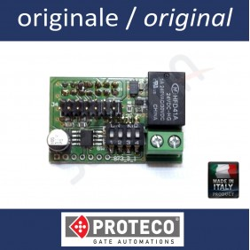 Additional module for II radio channel on PROTECO control unit