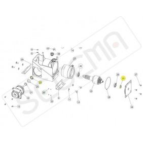 Guarnizione paraolio albero riduzione e motore PASS 1200/1800/2500