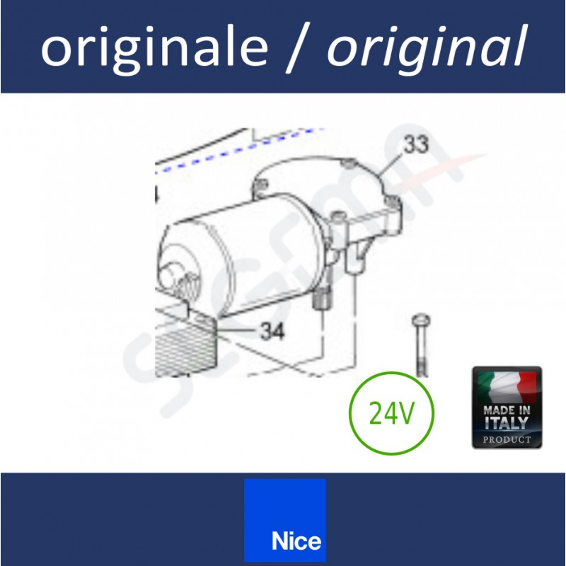 Motore preassemblato per SPIN40