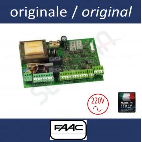 455D Centrale électronique FAAC pour opérateurs oléohydrauliques