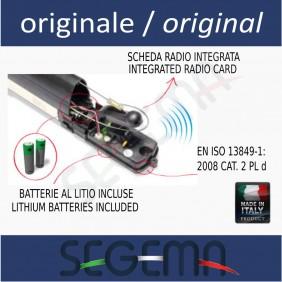 Kit bordo sensibile radio con ricevitore