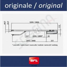 BOTTICELLI BT A650 operatore porte sezionali 10mq