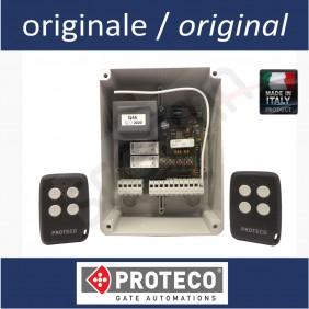Kit centrale per serrande e 2 radiocomandi Proteco