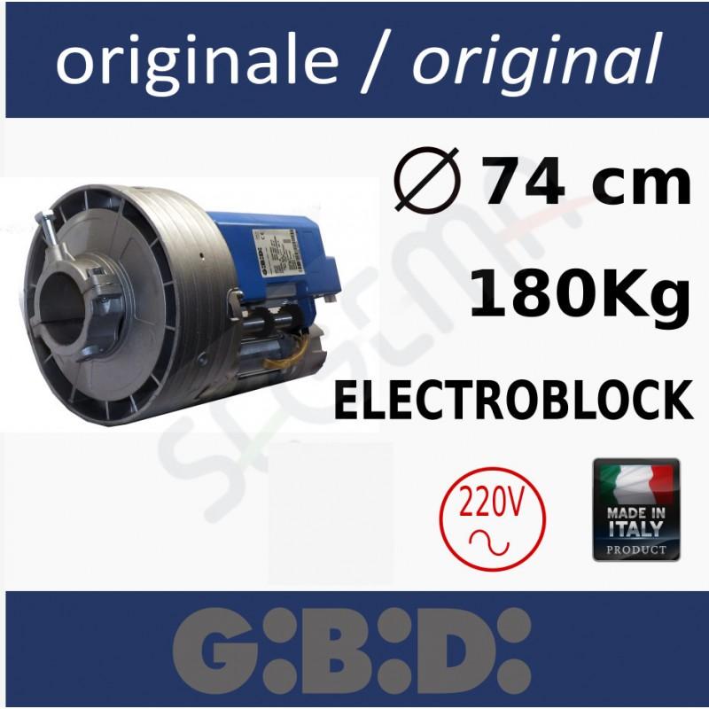 MPS240E Motore per serranda con elettrofreno 180Kg