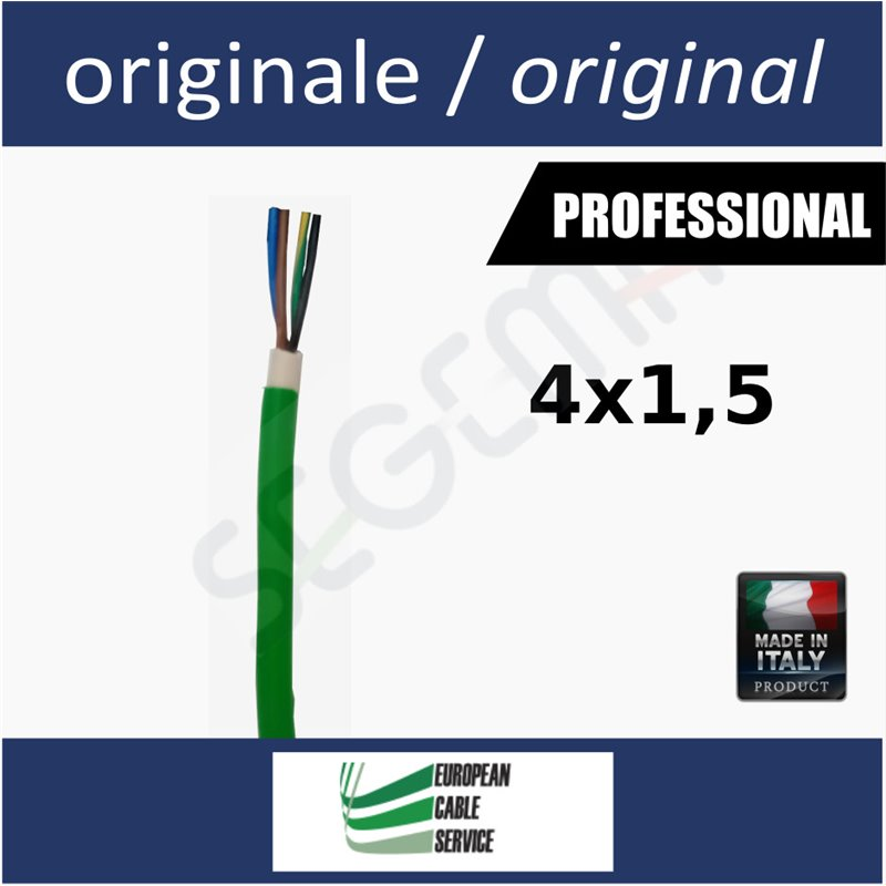 Cable for powering 230V gate motors