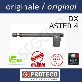 myASTER 4 DX operatore elettromeccanico a battente
