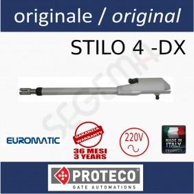 STILO 4 Operatore elettromeccanico lineare DESTRO