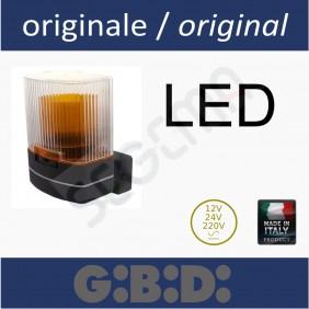 Lampeggiante a led universale 115/230V-24/12V