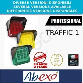 TRAFFIC 1 single-light red, green or yellow traffic light